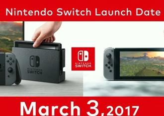 任天堂Switch发布会全程回顾
