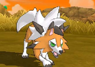 《口袋妖怪:日月》鬃岩狼人新形态